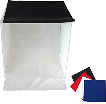 Caja de Luz DynaSun PB04 con 4 Fondos Cerrada Funda 40x40 Box ...