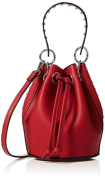 eba85cf23e New Look Womens Shiloh Stud Mini Cross-Body Bag Red (Bright Red ...