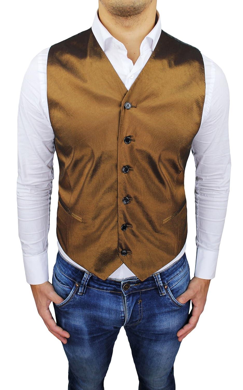 Evoga Men's Waistcoat Mustard Small