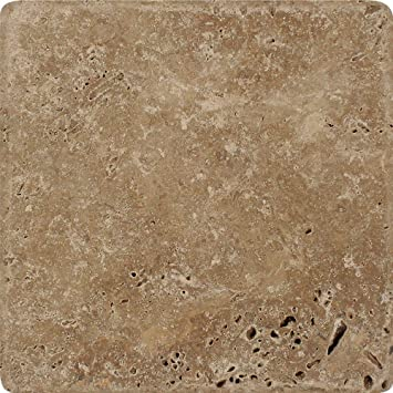 Amazoncom Tumbled Noce Travertine Tile 6 X 6 Kitchen Dining