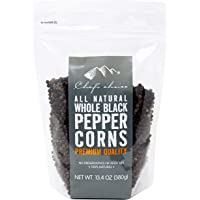 Chef's Choice All Natural Whole Black Peppercorns 380 g
