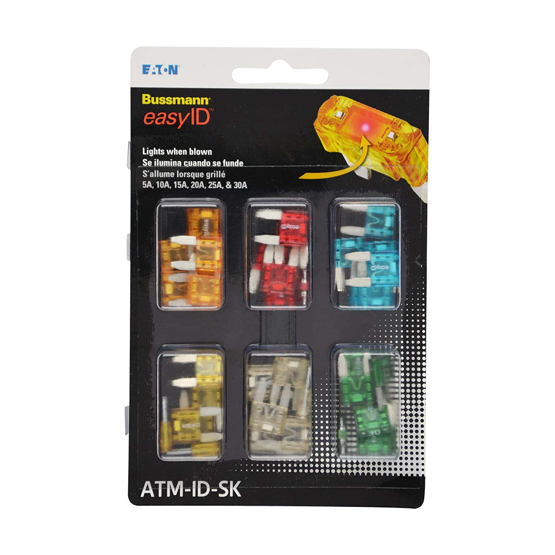 Bussmann ATM-ID-SK easyID Fuse Assortment Kit 36 Piece 5610373