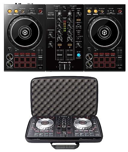 Amazon.com  Pioneer DJ DDJ-400 + Magma MGA47998 CTRL Case Bundle Deal   Musical Instruments f29c60aa5c