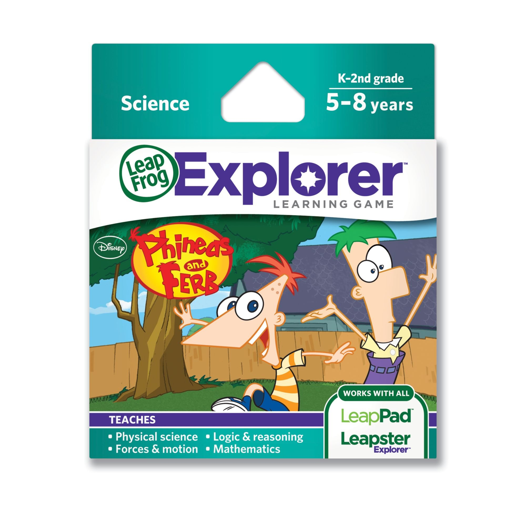 LeapFrog Disney Phineas and Ferb Learning Game (Works Tablets, LeapsterGS, and Leapster Explorer)