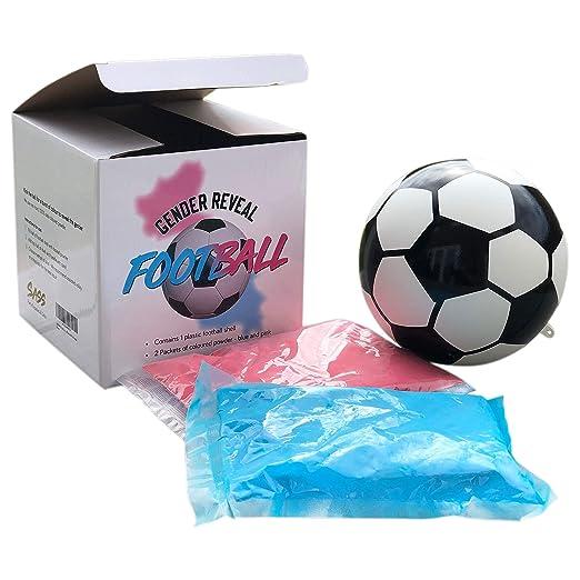 Sass Party & Gifts - Balón de fútbol/balón de fútbol, Color Azul y ...