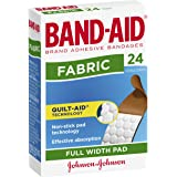 Band-Aid Adhesive Bandages Fabric 24