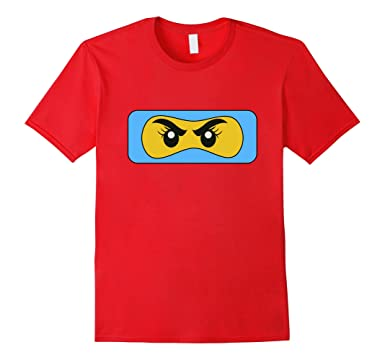 Amazon.com: Blue Ninja Girl Face Family T-Shirt: Clothing