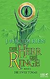 Die zwei Türme: Neuüberarbeitung der Übersetzung von Wolfgang Krege, überarbeitet und aktualisiert (Der Herr der Ringe, Band 2)