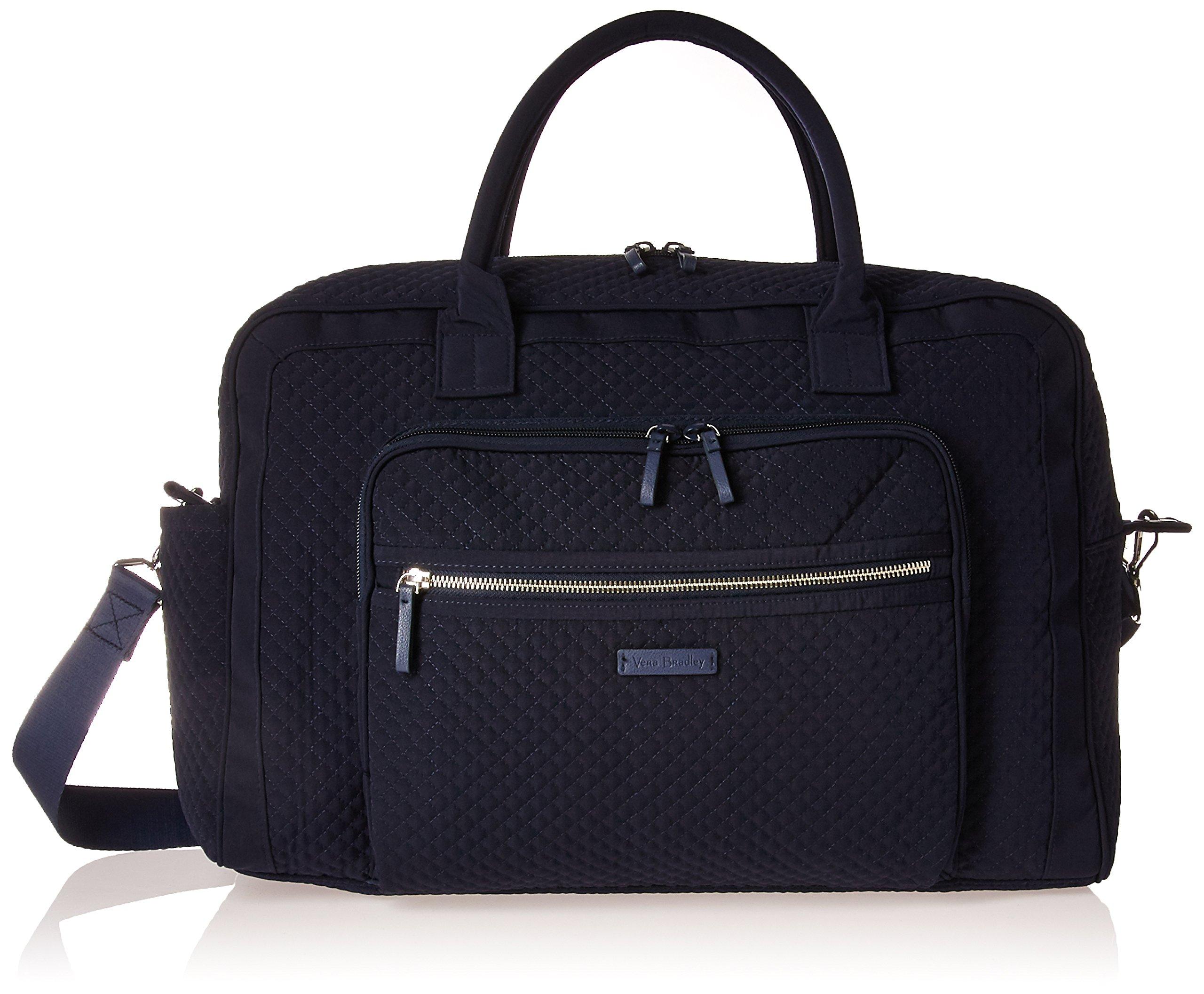 Vera Bradley Women's Iconic Weekender Travel Bag Vera by Vera Bradley