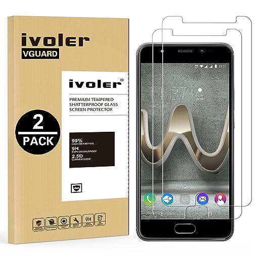 30 opinioni per [2 Pack] Pellicola Vetro Temperato Wiko U Feel Prime , iVoler® ** [Protezione
