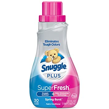 4c0f735153 Image Unavailable. Image not available for. Color  Snuggle Plus Super Fresh  Liquid Fabric Softener ...