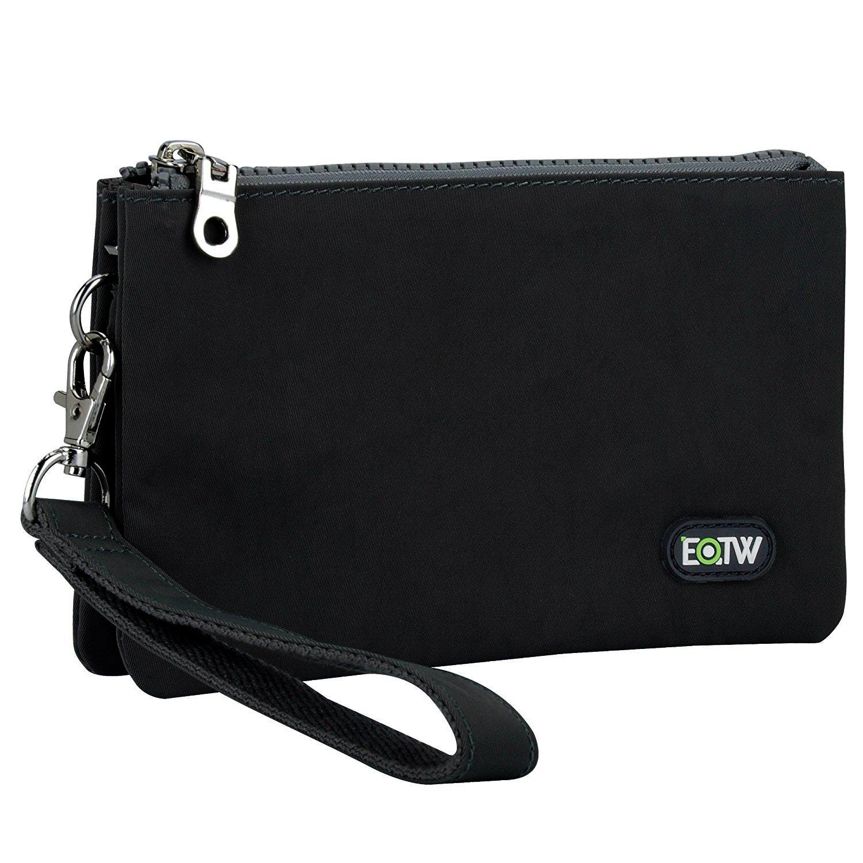 6925c65fd3e5 EOTW Wristlet Bag for Women Handy Lightweight Clutch Bags for Ladies Slim  Portable Organiser Purse Cash