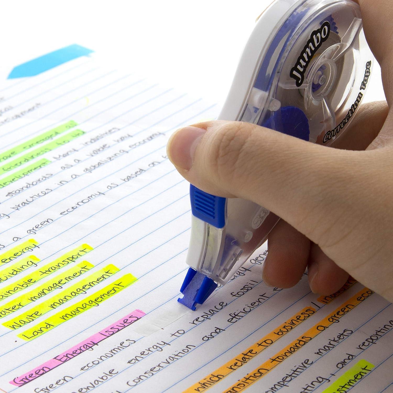 zuf/ällige Farbe bodhi2000//® Cloud Form Correction Tape wei/ß Out schreiben Tape 5/m f/ür Schule Kinder Studenten Schreibwaren Geschenk