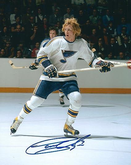 Autographed Garry Unger 8x10 St Louis Blues Photo at Amazon s Sports ... 7b6fce048