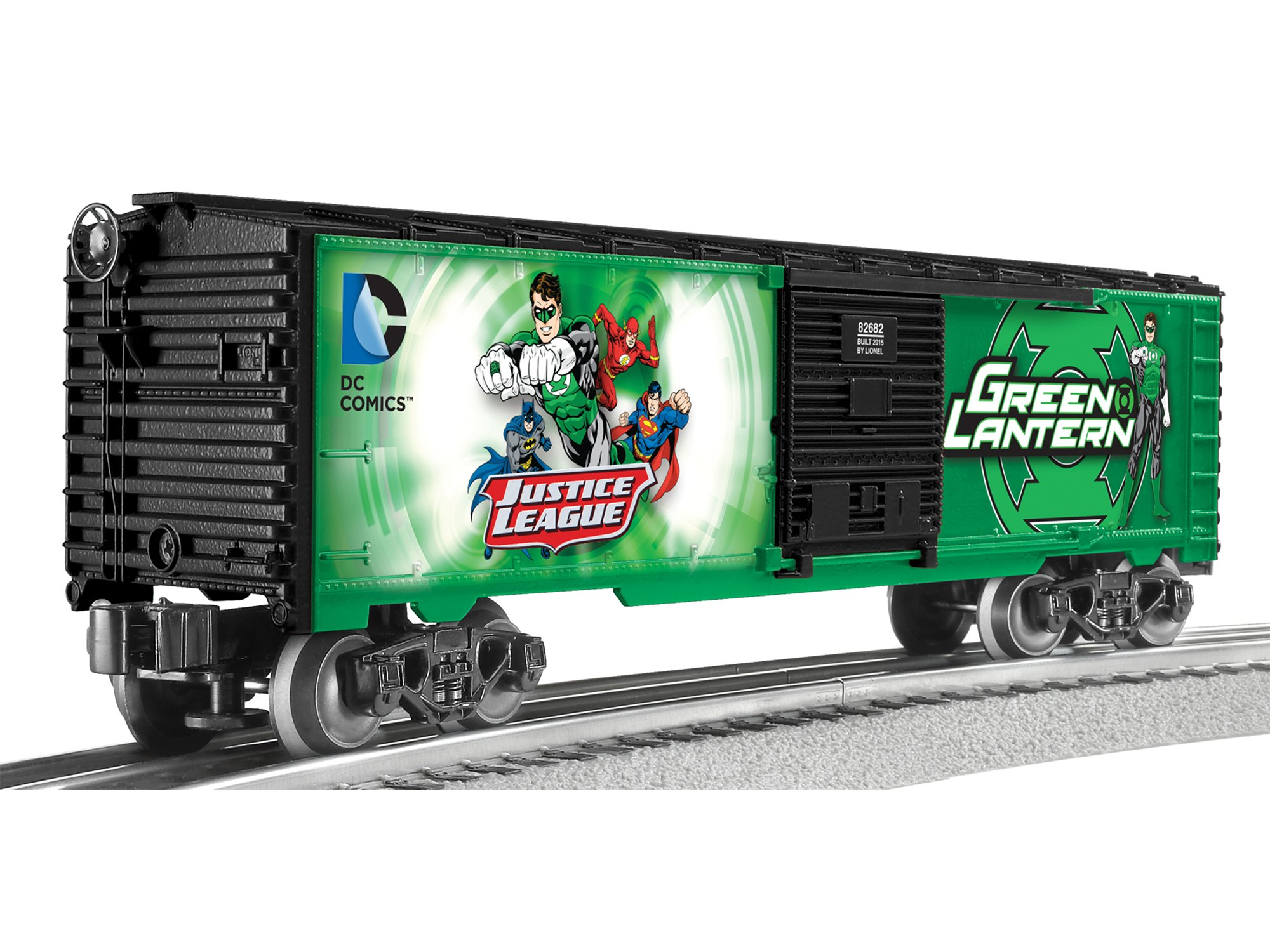 Lionel Superman Lantern (Pack of 2), Green