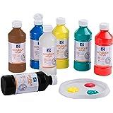 Lefranc Bourgeois Assortiment Acrylique Liquide 10 Flacons de 500ml