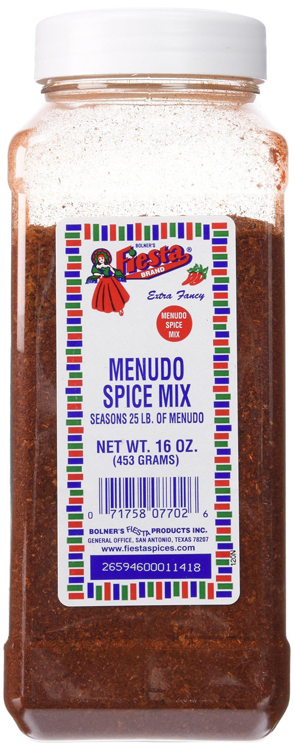 Bolner's Fiesta Extra Fancy Menudo Spice Mix, 16 Oz.