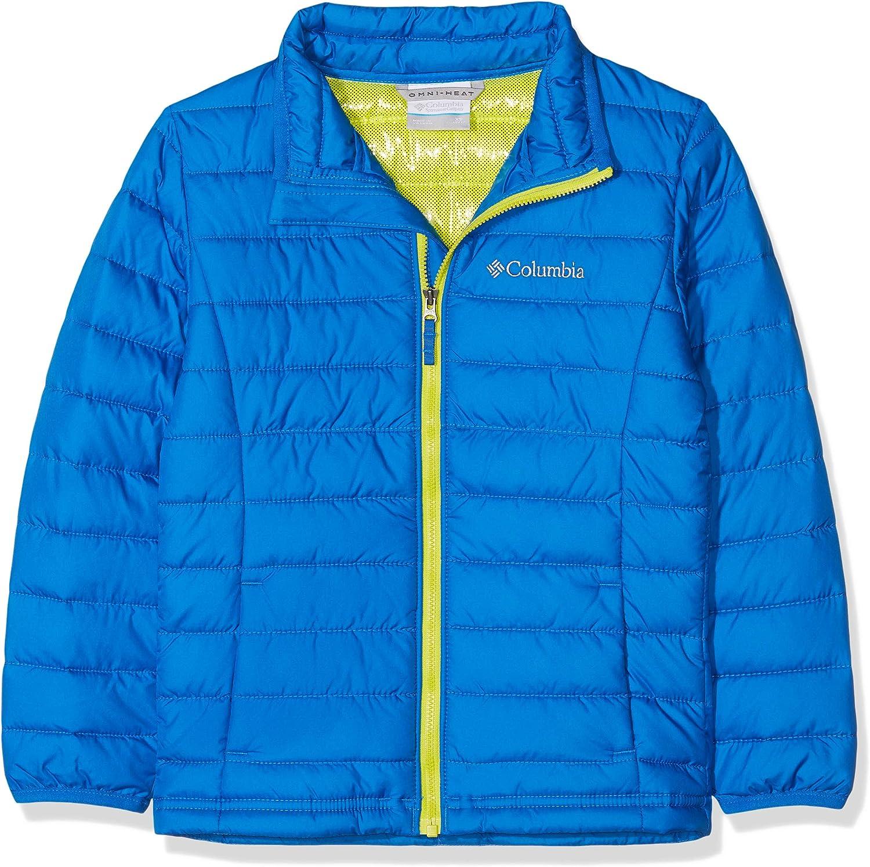 Columbia Powder Lite Girls Hooded Jacket Veste Fille: Amazon