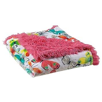 Amazon.com: avafort Super suave manta de piel sintética ...