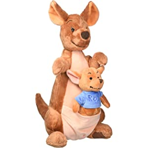 Disney Kanga and Roo Plush Toy -- 14 1/2 H