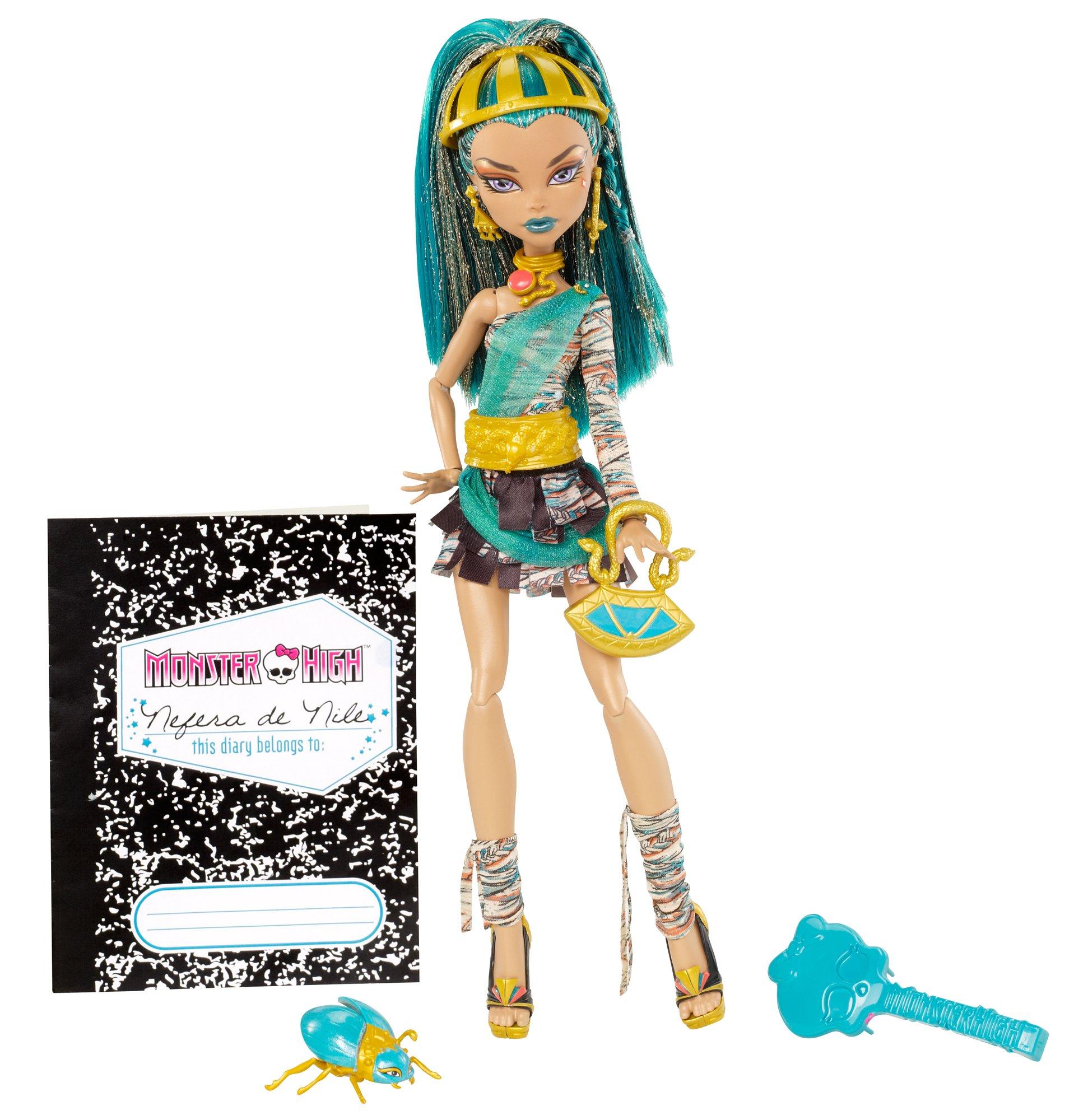 Mattel Monster High Nefera De Nile Doll Buy Online In Brunei At Brunei Desertcart Com Productid 58347312
