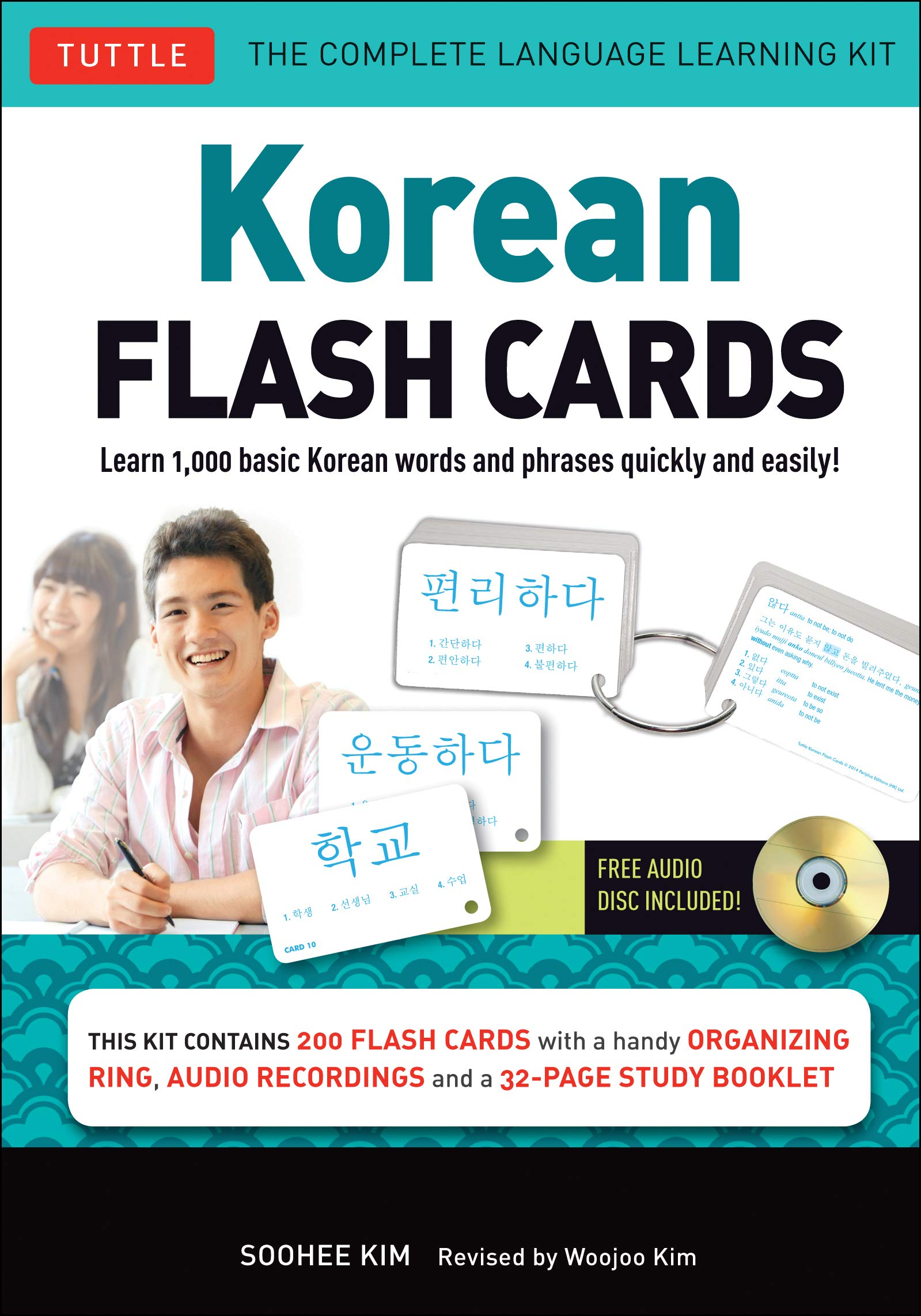 Korean Flash Cards Vol.1  Learn 1000 Basic Korean Words And Phrases Quickly And Easily