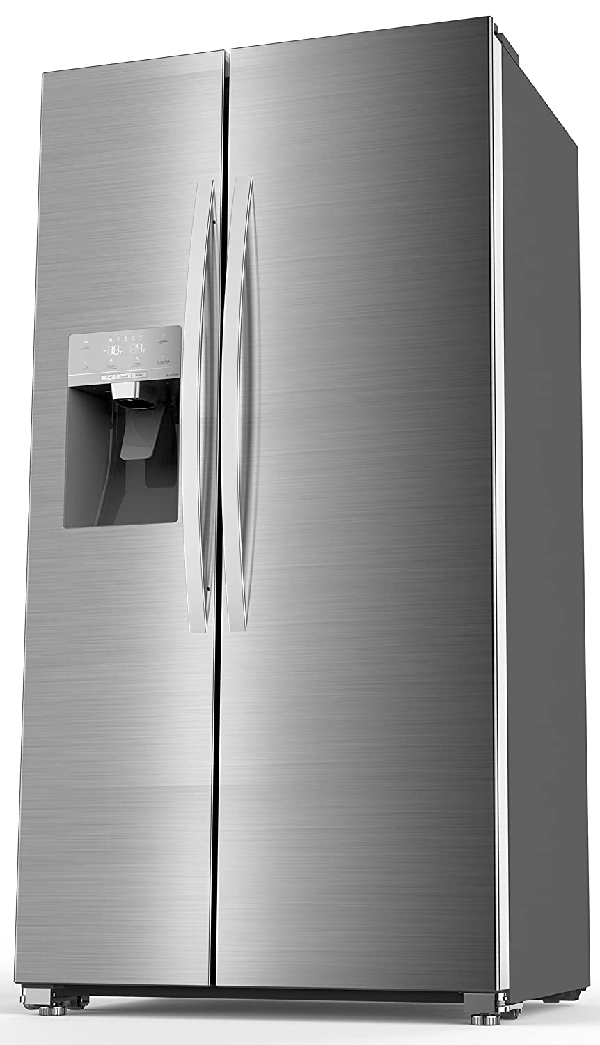 Hisense SBS 535 A++ ELIW Side-by-Side / 178.6 cm Höhe / 345 kWh ...