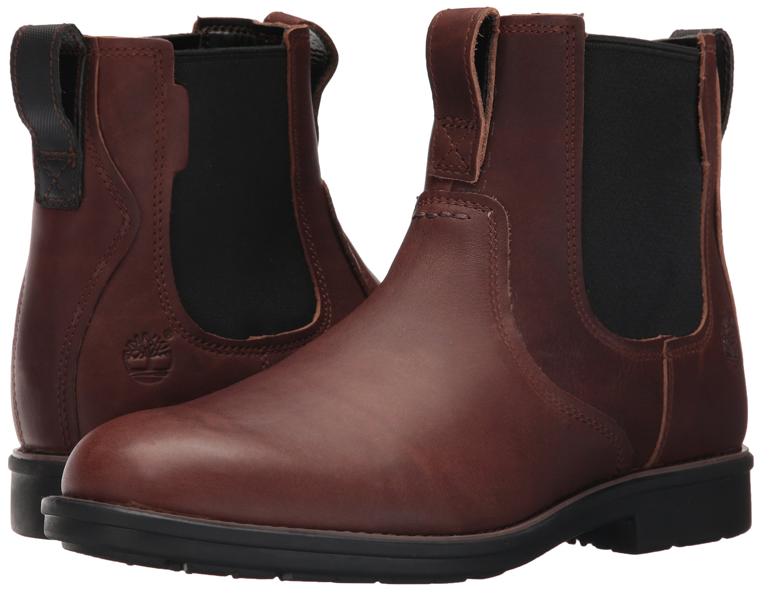 Timberland Men's Carter Notch Chelsea Boot, Dark Brown Full Grain, 14 C US by Timberland (Image #6)