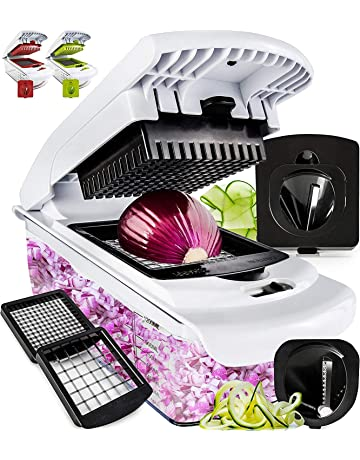 Amazon com: Choppers & Mincers: Home & Kitchen: Choppers, Mincers & More