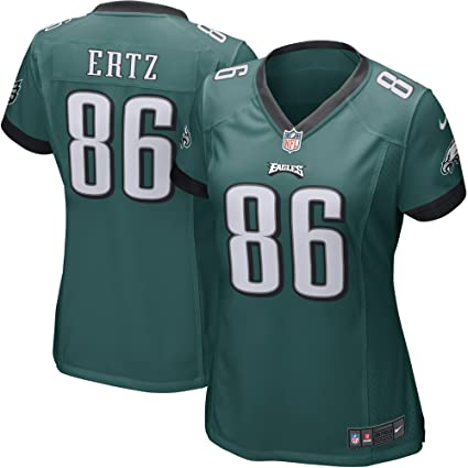 0059ef6a2 NIKE Zach Ertz Philadelphia Eagles Women s Game Jersey Midnight Green ...