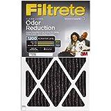 Filtrete MPR 1200 14 x 25 x 1 Allergen Defense Odor Reduction AC Furnace Air Filter, 4-Pack