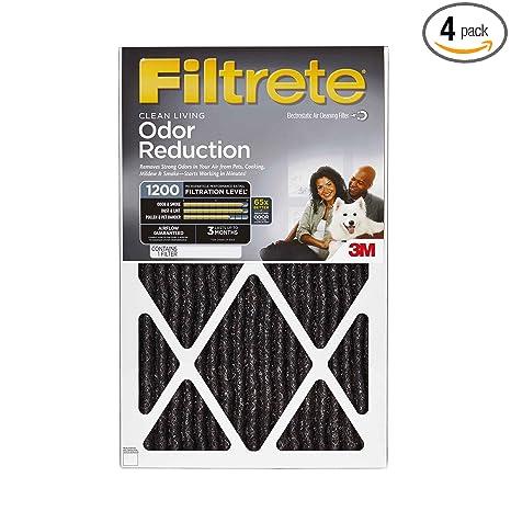 .com: filtrete allergen defense odor reduction ac furnace air ...