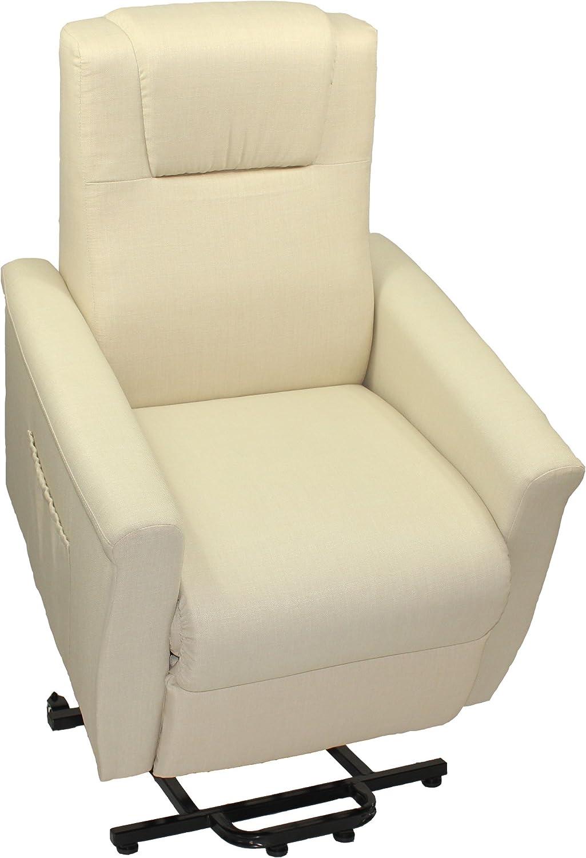 Trama Toscana sillón de Relax A 2Motores Naranja