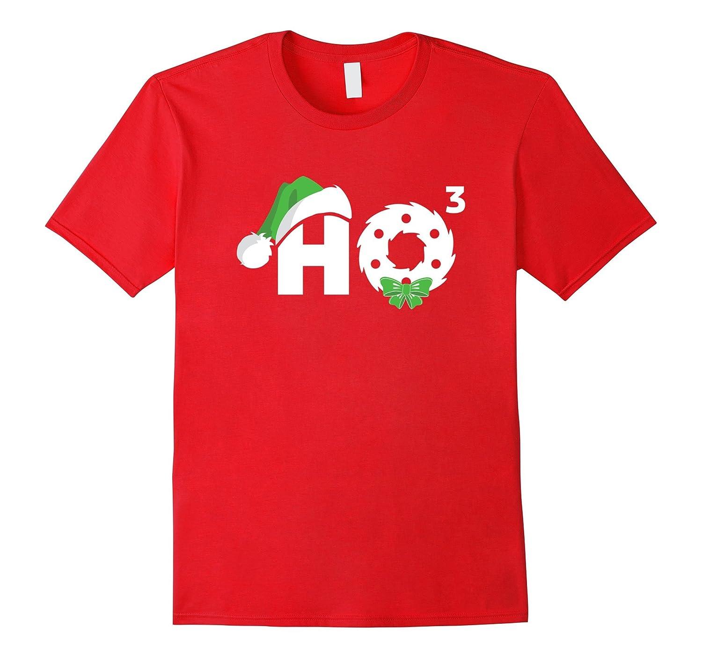 Santa HO HO3 Cubed Funny Christmas T-Shirt Xmas Gift-ANZ