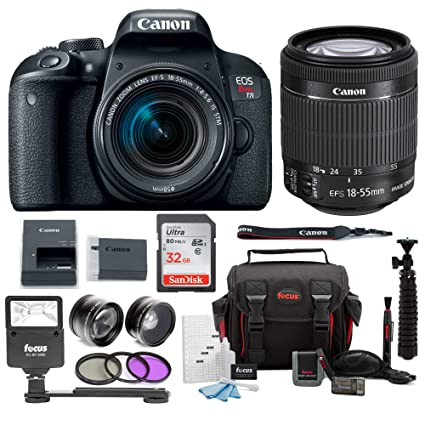 Amazon.com : canon eos rebel t7i digital camera: 24 megapixel 1080p