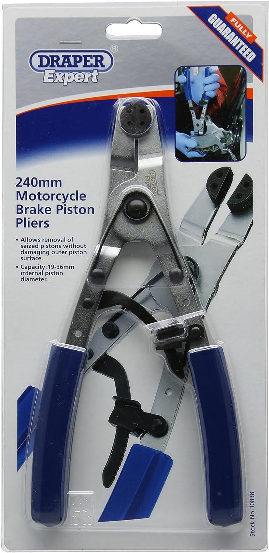 Draper Expert 30838 Bremskolbenwerkzeug Für Krafträder 240 Mm Auto