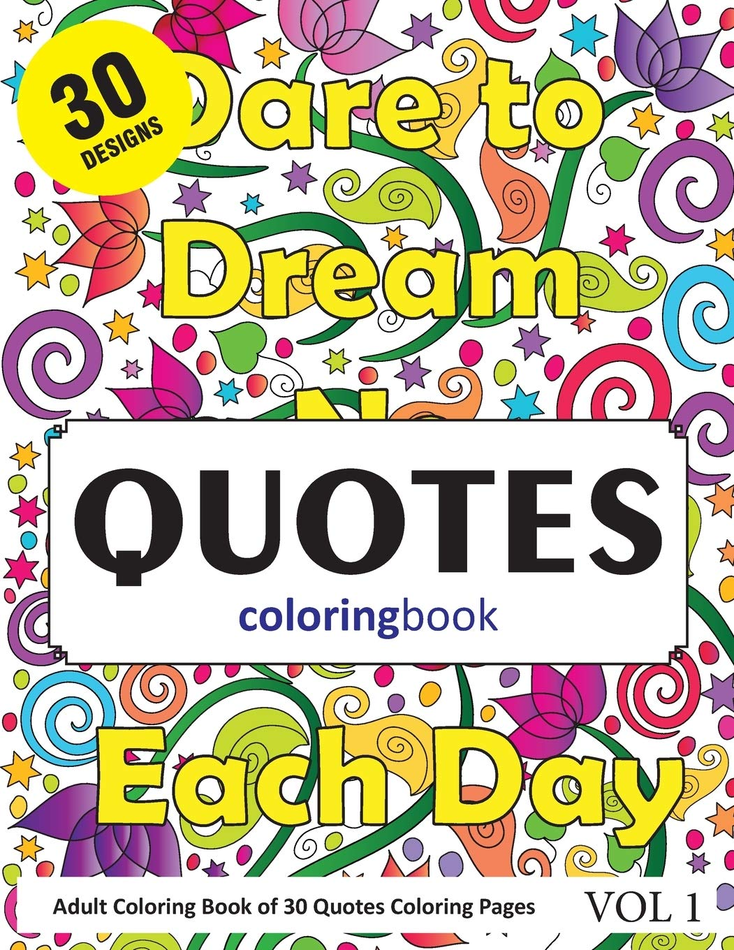 - Amazon.com: Quotes Coloring Book: 30 Coloring Pages Of Quotations