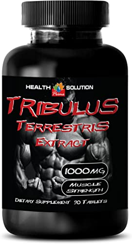 Tribulus terrestris and Fenugreek – TRIBULUS TERRESTRIS Extract 1000MG – Improve Sexual Functions 1 Bottle 90 Tablets
