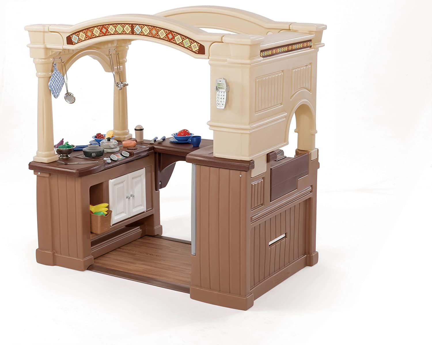 Step2 Lifestyle Grand Walk In Kitchen Amazoncouk Toys Games