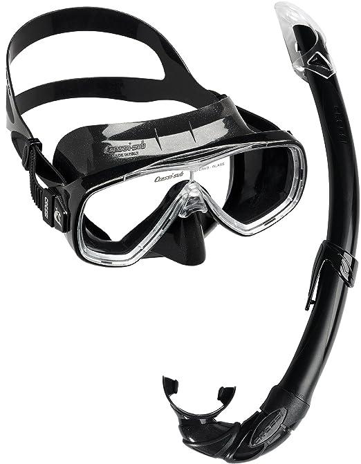 107 opinioni per Cressi Onda Mare Combo Set Snorkeling, Nero, Taglia Unica