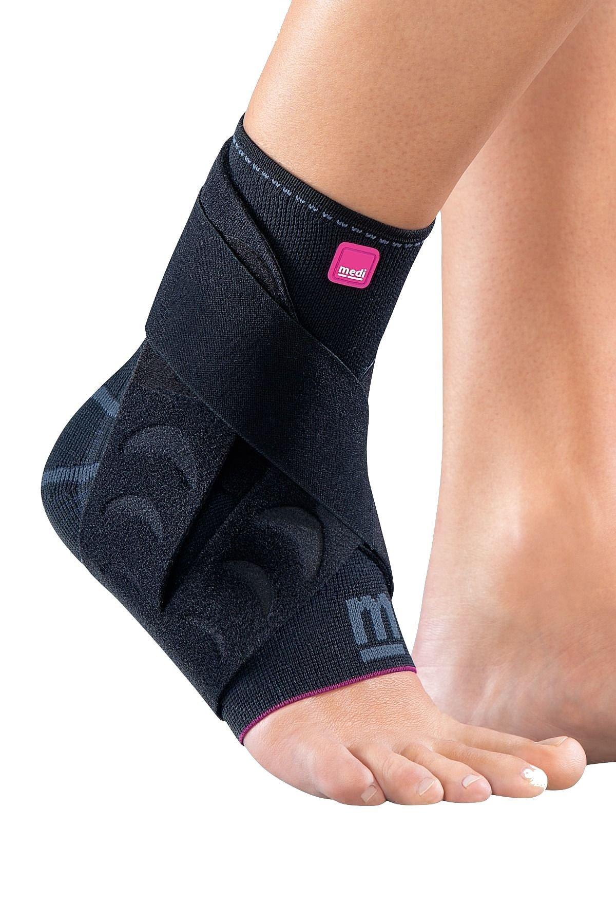 Medi Levamed Active Knit Ankle Support Left (Black) Size 1