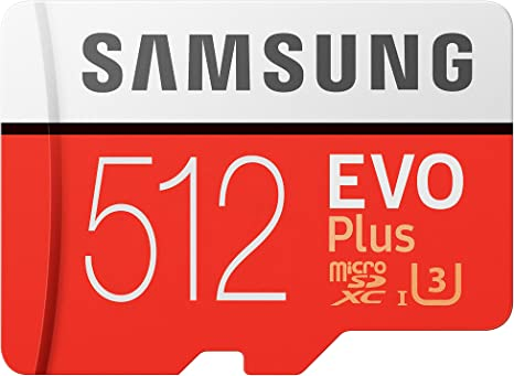 Samsung EVO Plus 512GB microSDXC UHS-I U3 100MB/s Full HD & 4K UHD Nintendo Switch 動作確認...