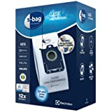 Electrolux E201SM Mega Pack de 12 Bolsas S-Bag Classic Long Performance, Blanco