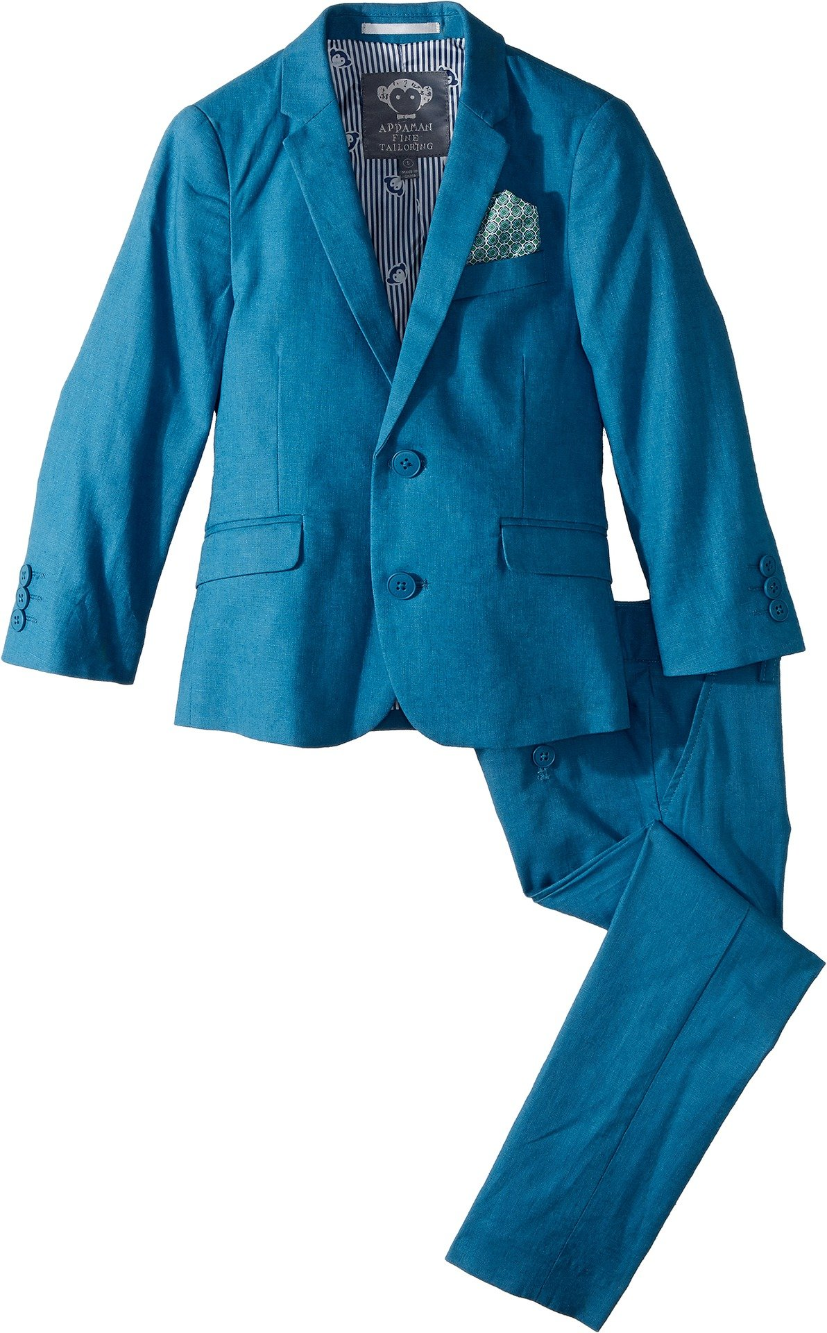Appaman Kids Baby Boy's Two-Piece MOD Suit (Toddler/Little Kids/Big Kids) Teal 10
