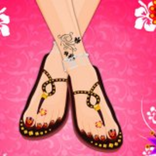 Pedicure and Dress up Game Online