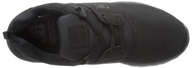 DC Men's Heathrow Casual Skate Shoe B01H197OS8 6.5 D D US Black/Black/Black