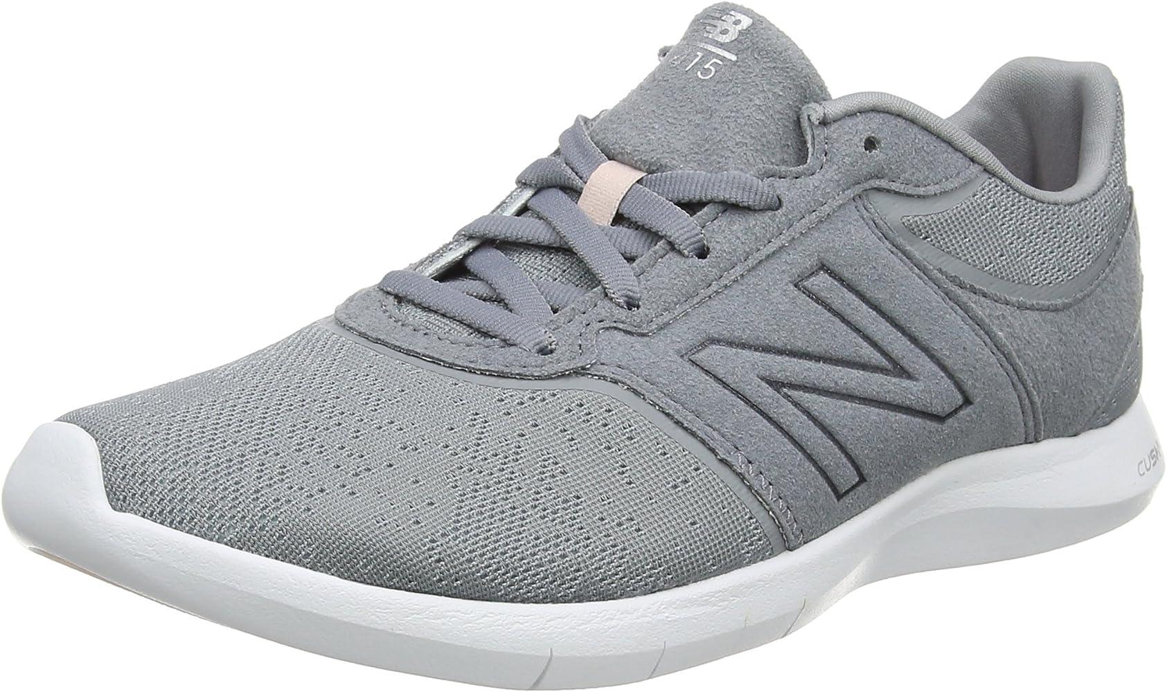 tenis new balance mujer gris