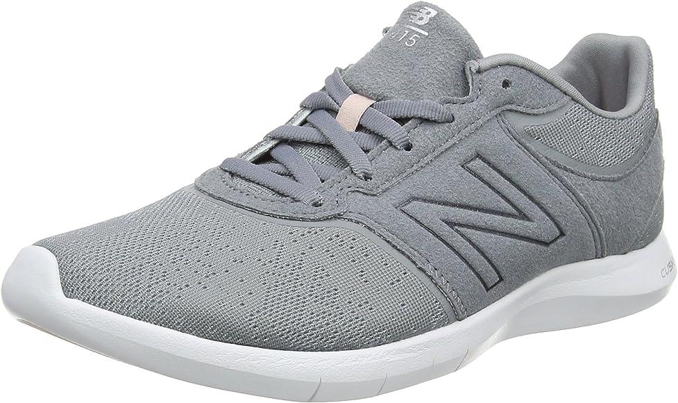 New Balance 415, Zapatillas para Mujer, Gris (Grey/White Seasonal), 37.5 EU: Amazon.es: Zapatos y complementos