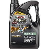 Castrol 03128C EDGE High Mileage 5-Quart 5W-30 Advanced Full Synthetic Motor Oil