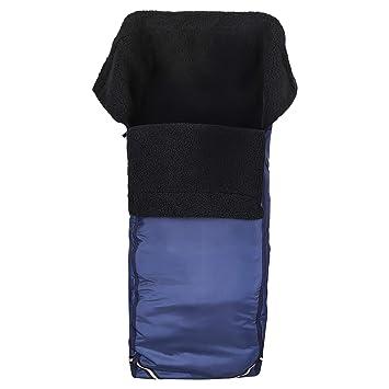 Kaiser Naturfellprodukte 999005 - Saco para silla de ruedas (vellón, tamaño universal), color azul: Amazon.es: Salud y cuidado personal